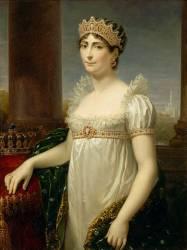 Portrait de l'impératrice Joséphine (1763-1814), en costume de reine d'Italie (Appiani Andrea l'Aîné) - Muzeo.com