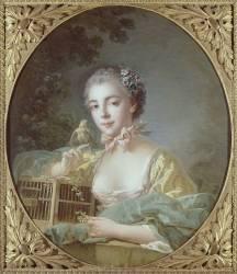 Portrait de madame Baudouin, fille du peintre (François Boucher) - Muzeo.com