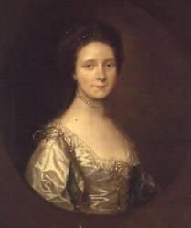 Portrait de Madame Simpson (Thomas Gainsborough) - Muzeo.com