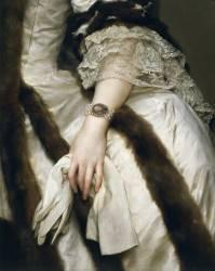 Portrait de Marie Caroline d'Autriche (détail) (Mengs Anton Raphaël) - Muzeo.com