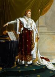 Portrait de Napoléon Ier en souverain législateur (Girodet Anne-Louis) - Muzeo.com