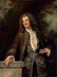 Portrait d'un gentilhomme (Antoine Watteau) - Muzeo.com