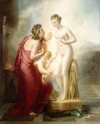 Pygmalion et Galatée (Anne-Louis Girodet) - Muzeo.com