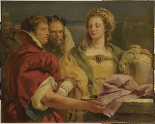 Rébecca au puits (Tiepolo Gian Domenico) - Muzeo.com
