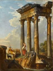 Ruines antiques (Giovanni Paolo Pannini) - Muzeo.com
