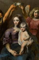 Saint Eloi au pied de la Vierge (Gérard Seghers) - Muzeo.com