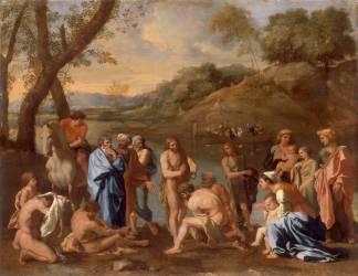 Saint Jean baptisant le peuple (Nicolas Poussin) - Muzeo.com