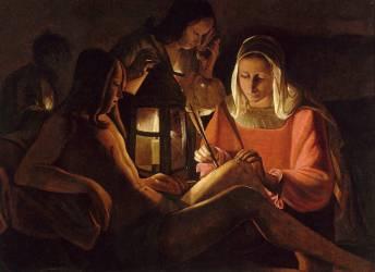 Saint Sébastien à la lanterne (Anonyme) - Muzeo.com