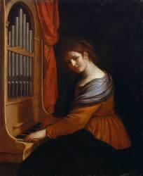 Sainte Cécile (Le Guerchin) - Muzeo.com