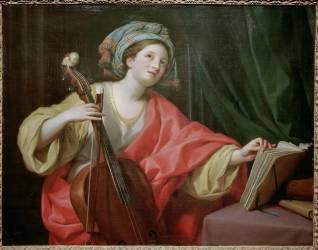 Sainte Cécilia (Anton Raphael Mengs) - Muzeo.com