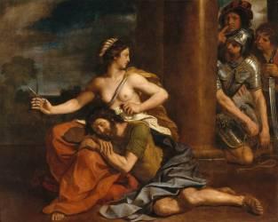 Samson et Dalila (Le Guerchin) - Muzeo.com