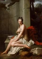 Suzanne au bain (Jean-Baptiste Santerre) - Muzeo.com