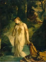 Suzanne au bain (Théodore Chasseriau) - Muzeo.com