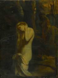 Suzanne au bain - esquisse (Théodore Chasseriau) - Muzeo.com