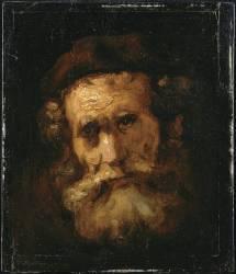 Un rabbin (Rembrandt) - Muzeo.com
