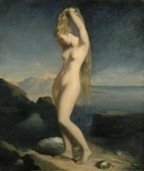 Vénus Anadyomène dite Vénus marine (Chasseriau Théodore) - Muzeo.com