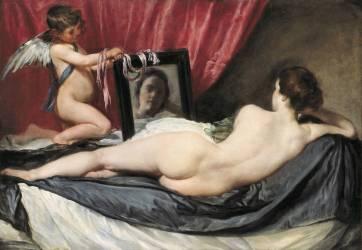 Vénus au miroir (Vélasquez Diego) - Muzeo.com
