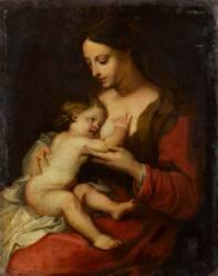 Vierge à l'enfant (Anonyme) - Muzeo.com