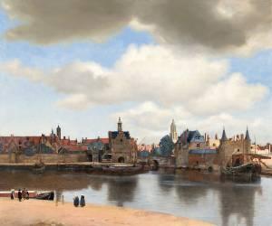 Vue de Delft (Johannes Vermeer) - Muzeo.com