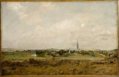 Vue de Salisbury (John Constable) - Muzeo.com