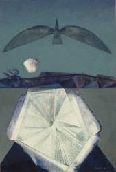 Après moi le sommeil Titre attribué : Hommage à Paul Eluard (Ernst Max) - Muzeo.com