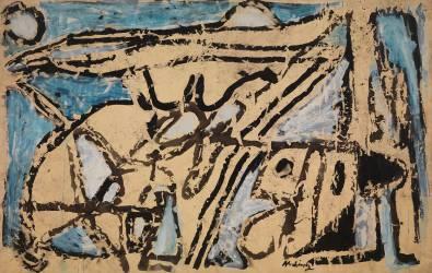 Au pays de l'encre (Pierre Alechinsky) - Muzeo.com