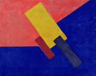 Composition (Olga Rozanova) - Muzeo.com