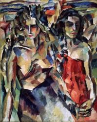 Deux femmes (Aristarkh Lentulov) - Muzeo.com