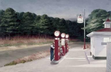 Gas,1940 (Hopper Edward) - Muzeo.com