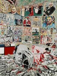 L'arrière-plan de Pollock (Erró) - Muzeo.com