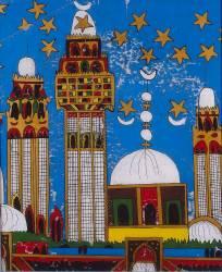 Mosquée de Touba (Babacar Lo) - Muzeo.com