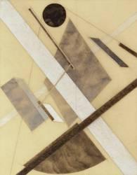 Proun : Le chemin de l'énergie et des flux dynamiques (Eliezer Lissitzky) - Muzeo.com