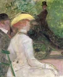 A Bois de Boulogne (Henri de Toulouse-Lautrec) - Muzeo.com