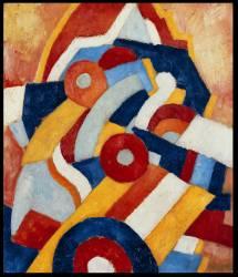 Abstraction (Marsden Hartley) - Muzeo.com