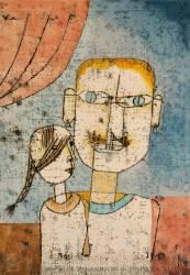 Adam et la petite Eve (Paul Klee) - Muzeo.com