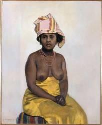 Africaine (Félix Vallotton) - Muzeo.com
