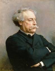 Alexandre Dumas, fils (1824-1895) (Bonnat Léon Joseph Florentin) - Muzeo.com