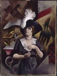 Alice au grand chapeau (La Fresnaye Roger de) - Muzeo.com