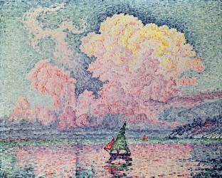 Antibes, le Nuage Rose (Paul Signac) - Muzeo.com