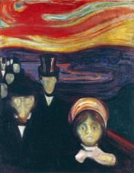 Anxiété (Edvard Munch) - Muzeo.com