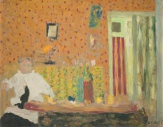 Après le repas (Edouard Vuillard) - Muzeo.com