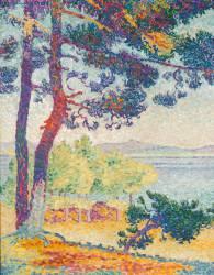 Après-midi à Pardigon (Var) (Henri-Edmond Cross) - Muzeo.com