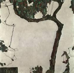 Arbre d'automne (Schiele Egon) - Muzeo.com