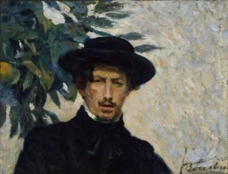 Autoportrait (Umberto Boccioni) - Muzeo.com