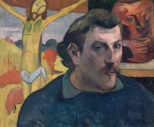 Autoportrait au Christ jaune (Paul Gauguin) - Muzeo.com