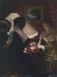 Autour de l'Abat-Jour (Giuseppe de Nittis) - Muzeo.com