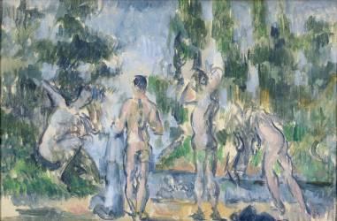 Baigneurs (Paul Cézanne) - Muzeo.com