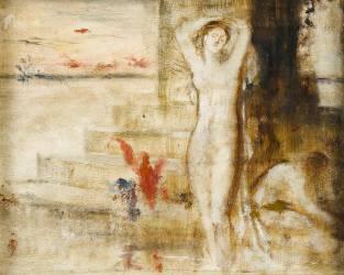 Baigneuses (Gustave Moreau) - Muzeo.com