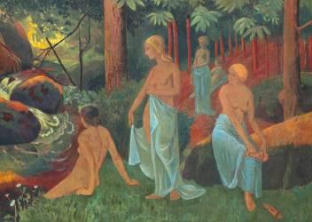 Baigneuses aux voiles blancs (Serusier Paul) - Muzeo.com
