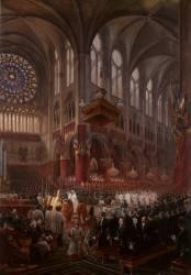 Baptême de Son Altesse Royale de Monseigneur le comte de Paris (le 2 mai 1841) (Eugène Viollet-Le-Duc) - Muzeo.com